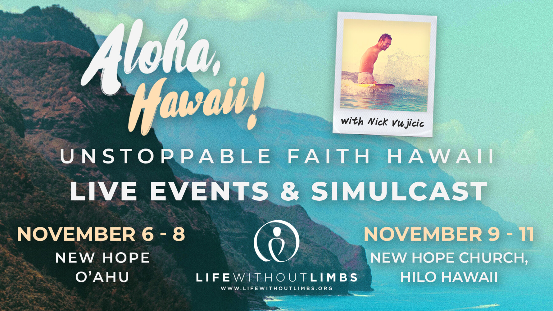 Unstoppable Faith Hawaii
