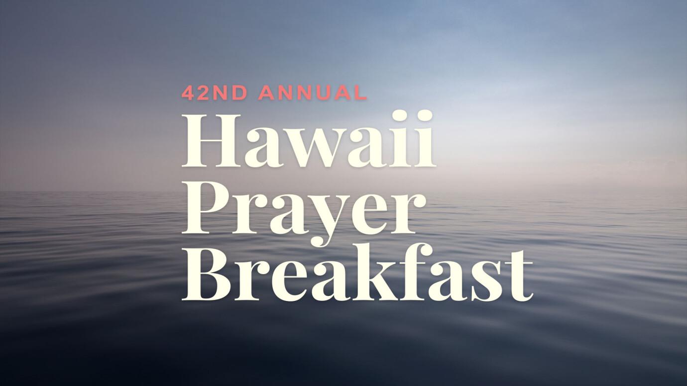 Hawaii Prayer Breakfast